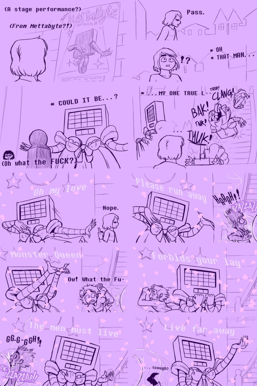 Underhertail monster girledition 5 porn comic picture 15