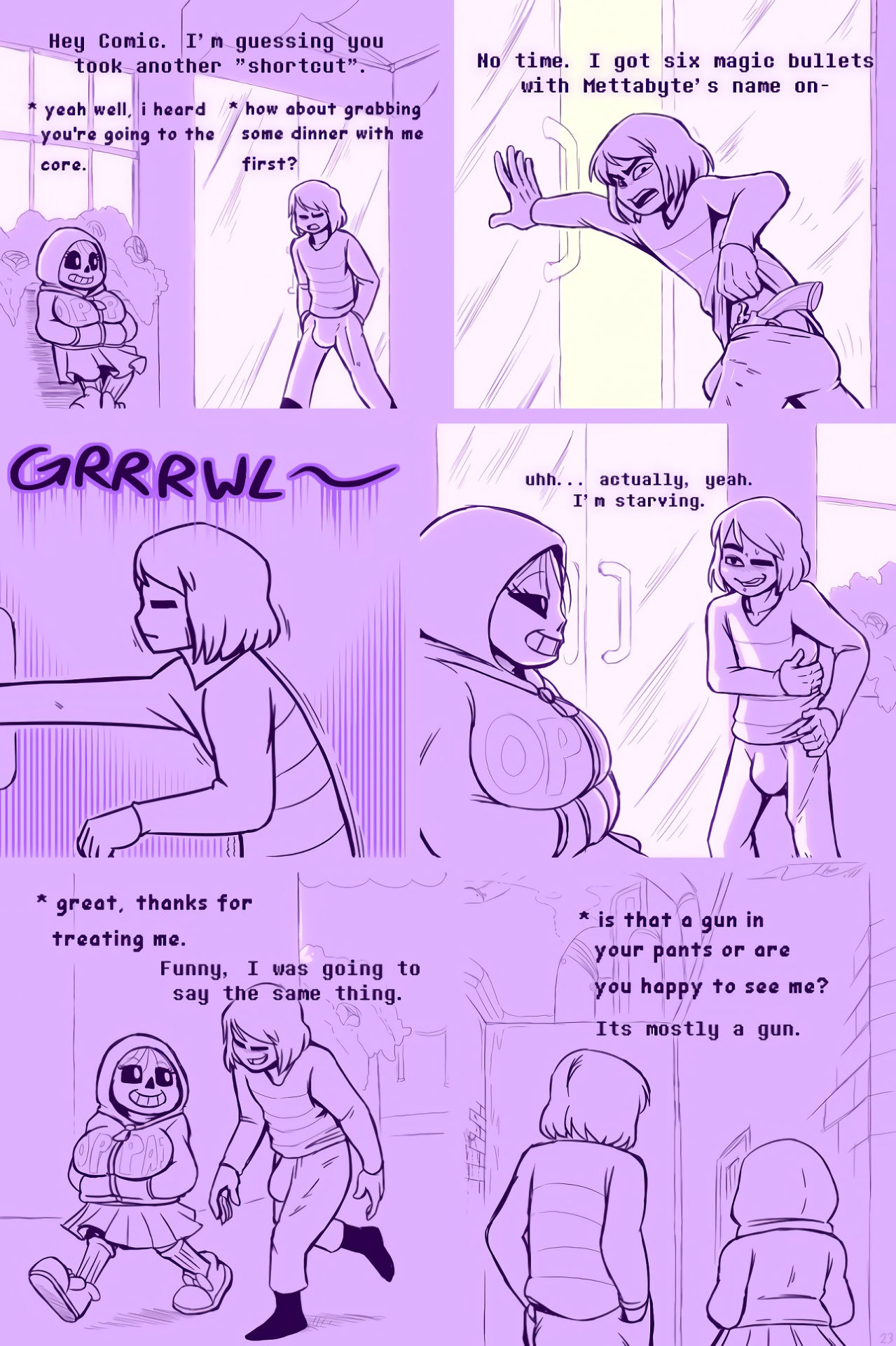 Underhertail monster girledition 5 porn comic picture 25