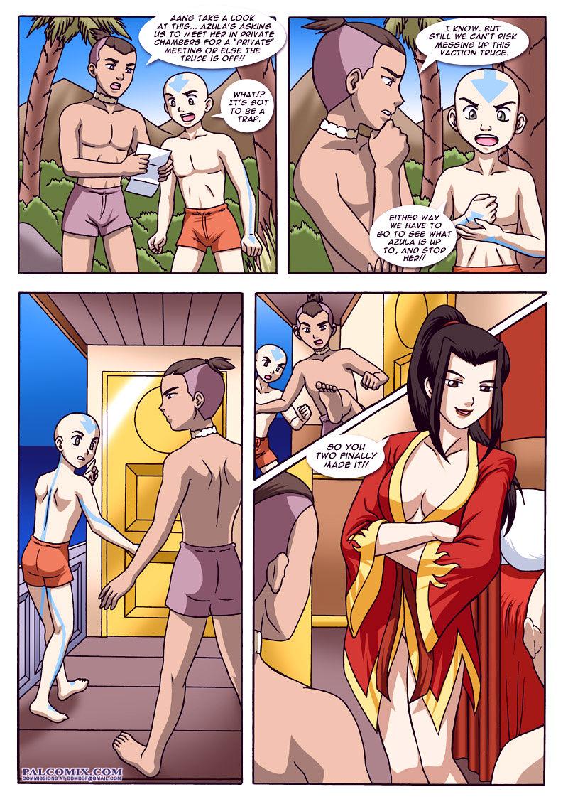Avatar bending break 2 porn comic picture 16