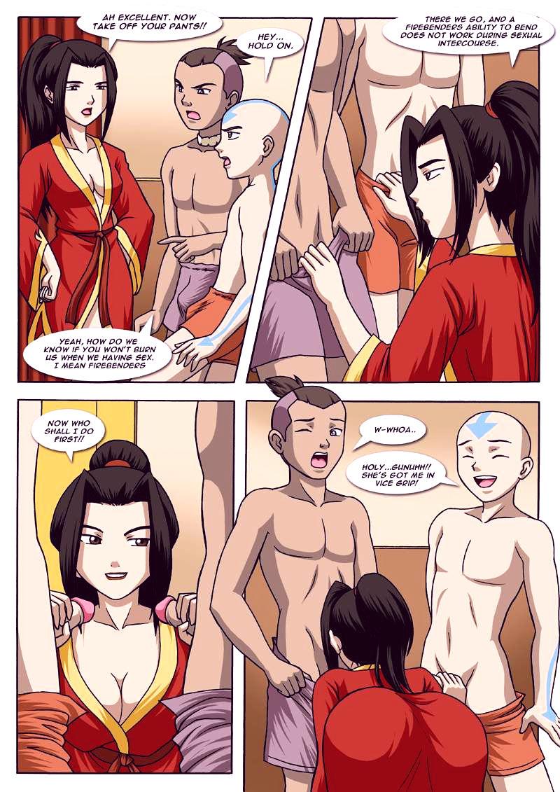 Avatar bending break 2 porn comic picture 18