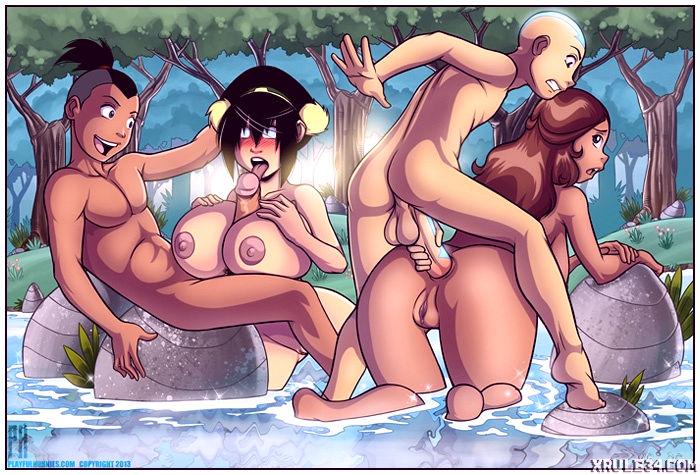 Beautiful lake porn comic picture 4