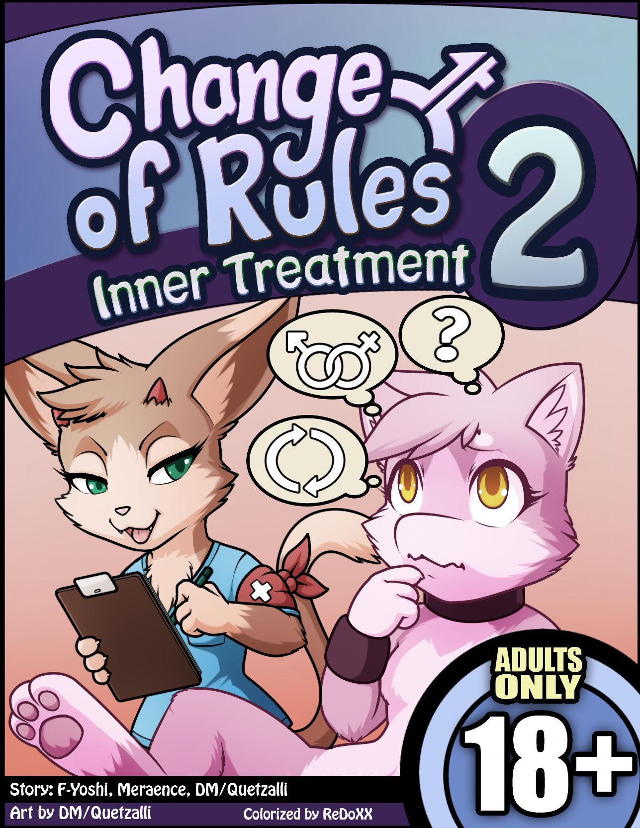 Change of rules 2 inner treatment hentai manga picture 1
