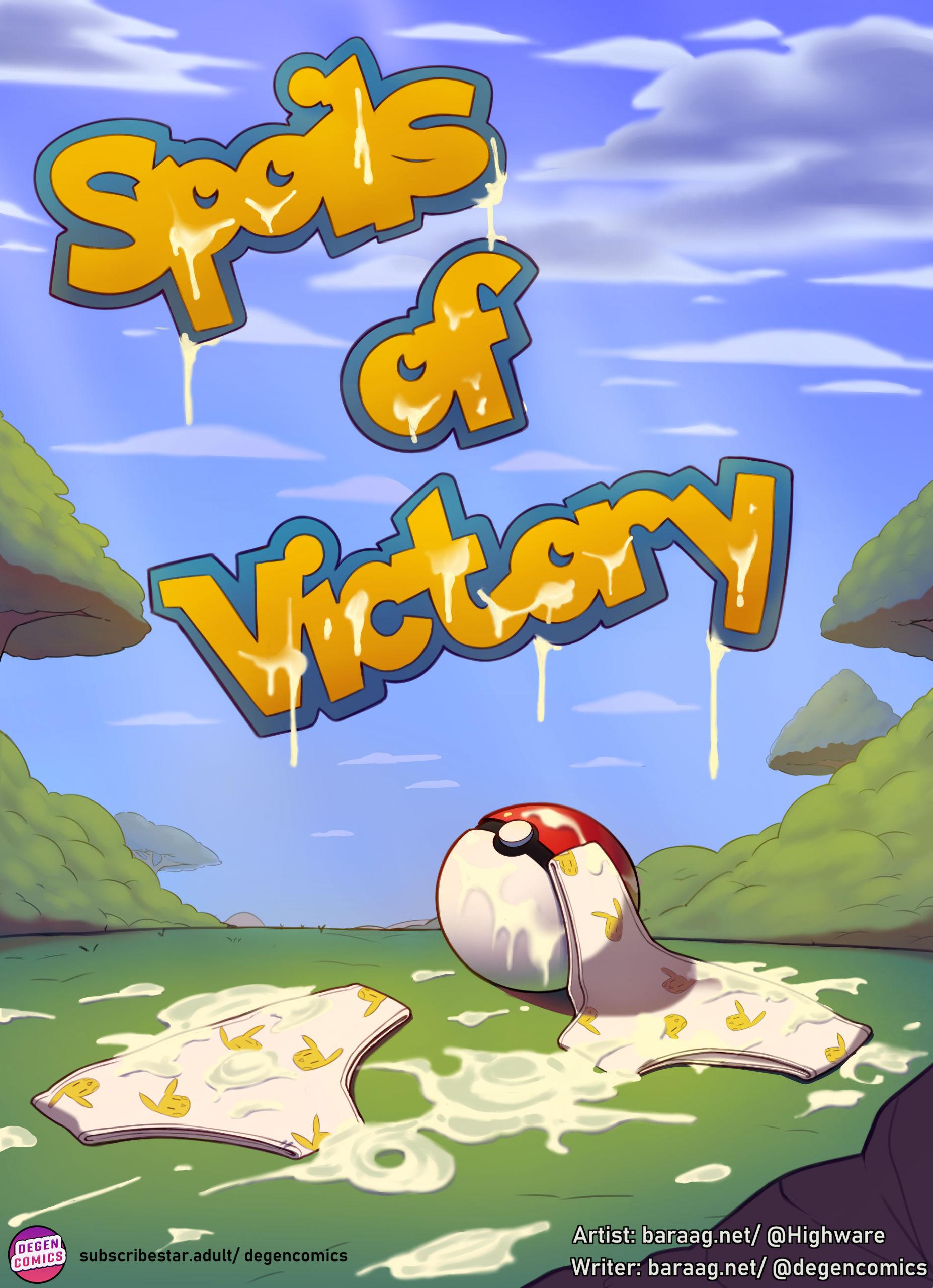 Spoils of victory hentai manga picture 1
