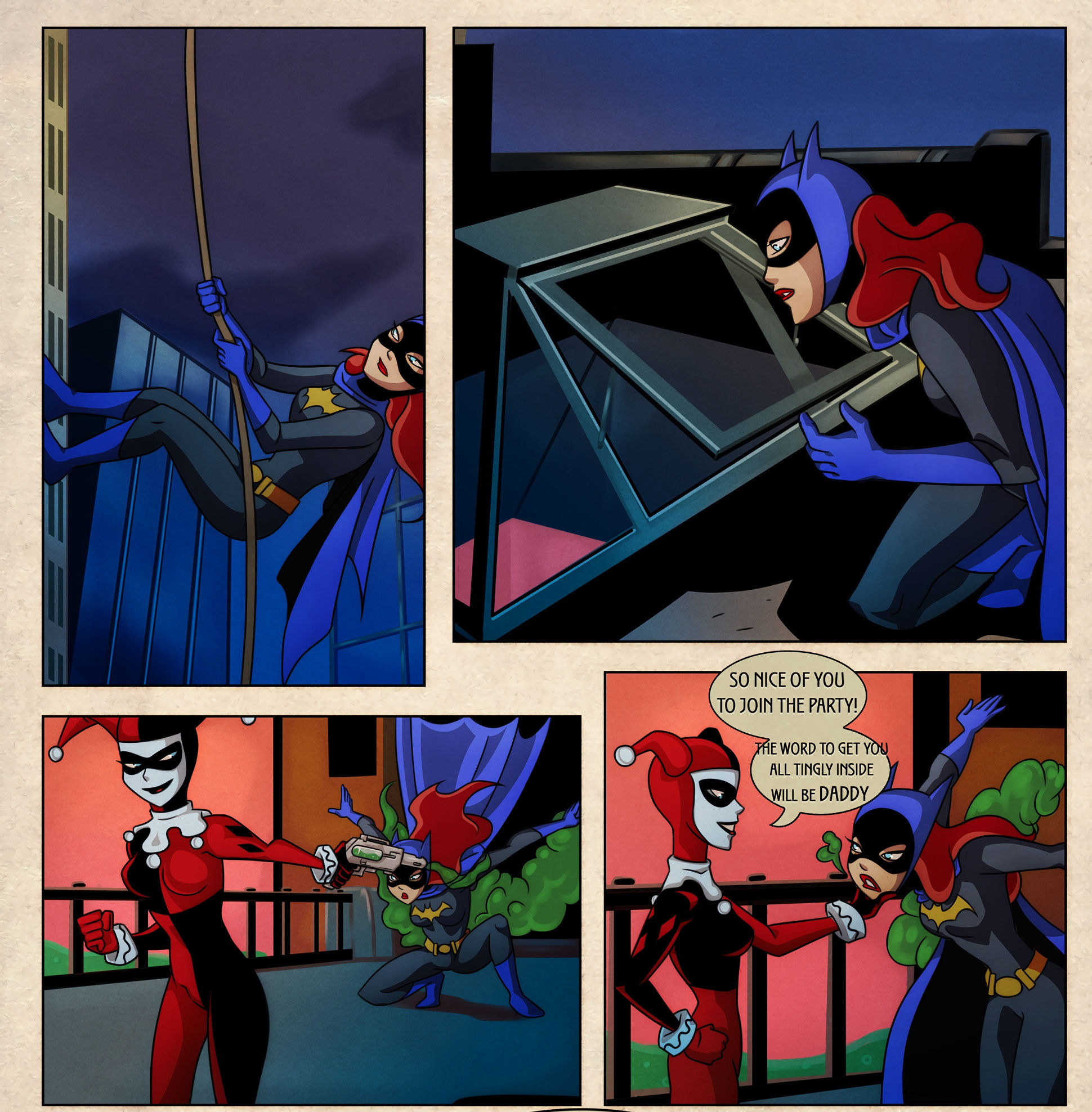 Batgirl issues porn comic picture 1