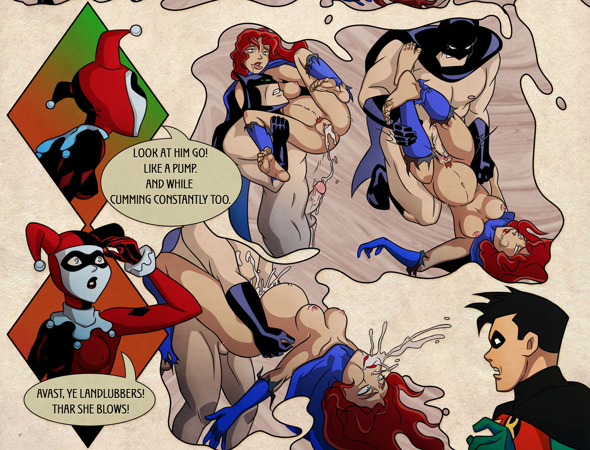 Batgirl issues porn comic picture 10
