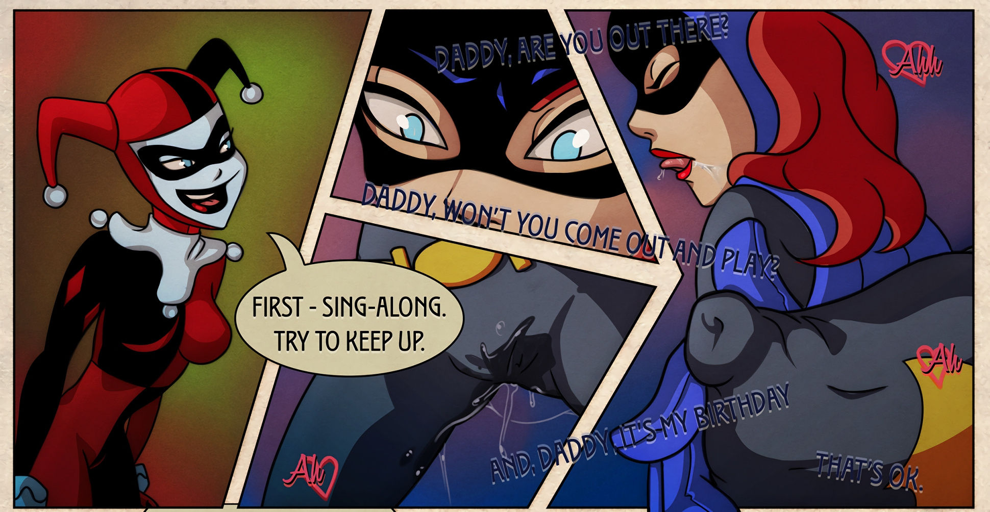 Batgirl issues porn comic picture 3