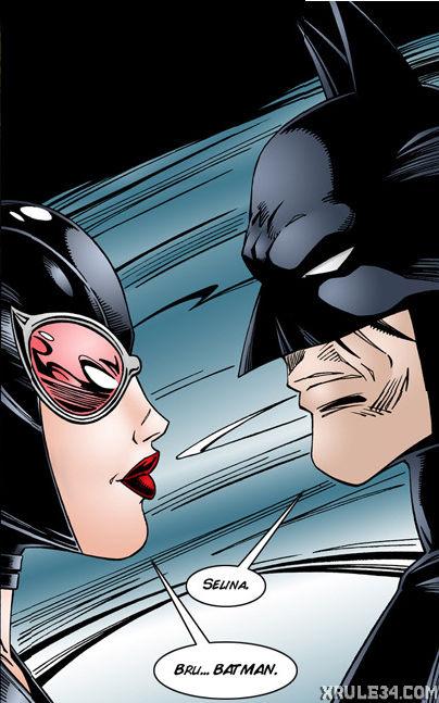 Batman interrogates catwoman porn comic picture 1