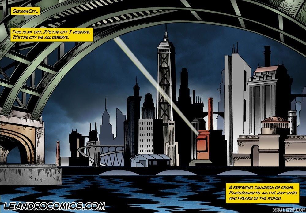 Batman interrogates catwoman porn comic picture 2