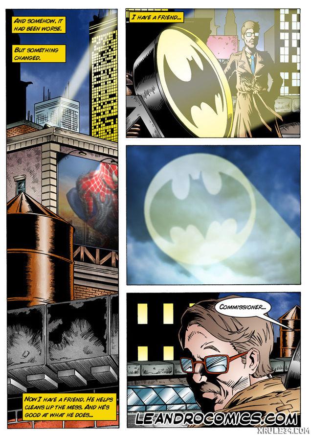 Batman interrogates catwoman porn comic picture 3