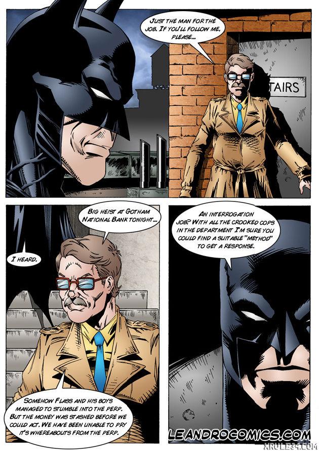 Batman interrogates catwoman porn comic picture 5
