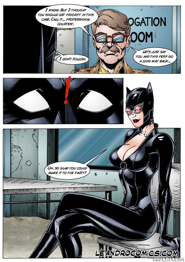 Batman interrogates catwoman porn comic picture 6