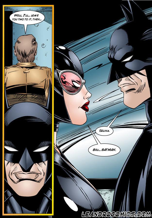 Batman interrogates catwoman porn comic picture 7