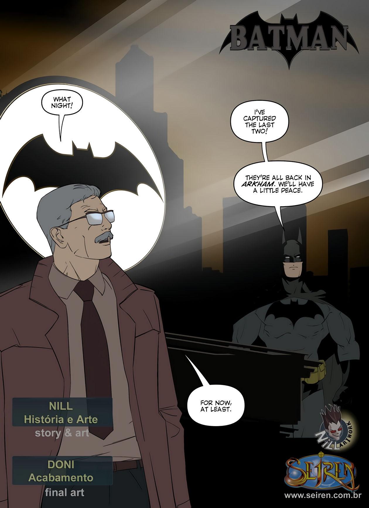 Batman porn comic picture 2