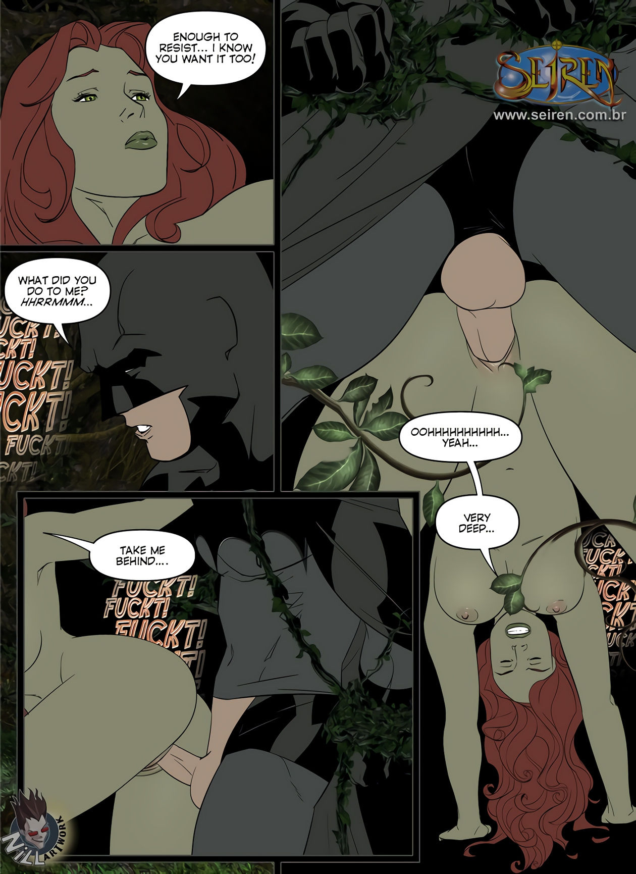 Batman porn comic picture 20