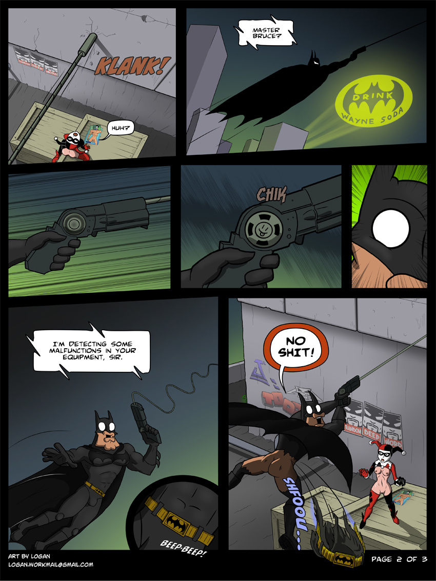 Batmetal porn comic picture 2