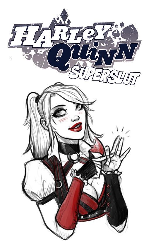 Harley quinn superslut porn comic picture 1