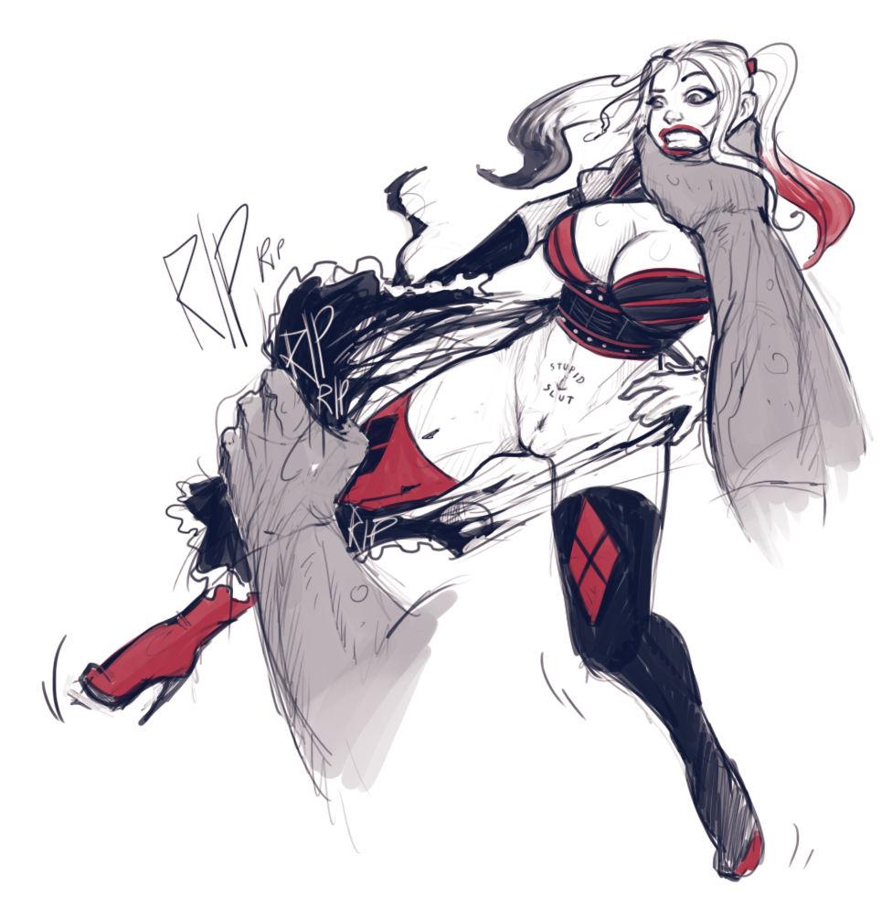 Harley quinn superslut porn comic picture 39