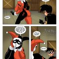 Harley and robin in the deal porn comic picture 1