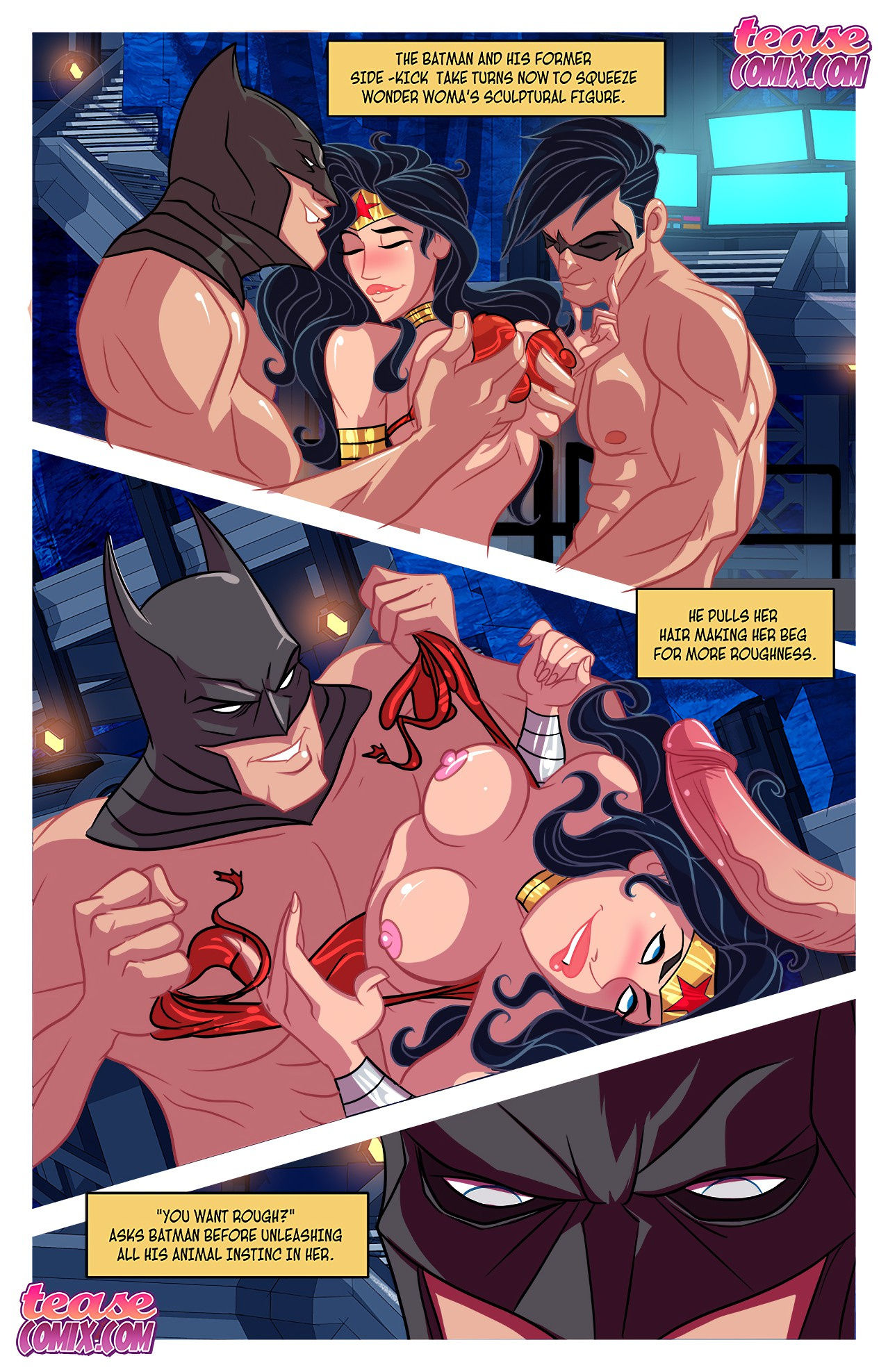 I want batcock 2 porn comic picture 14