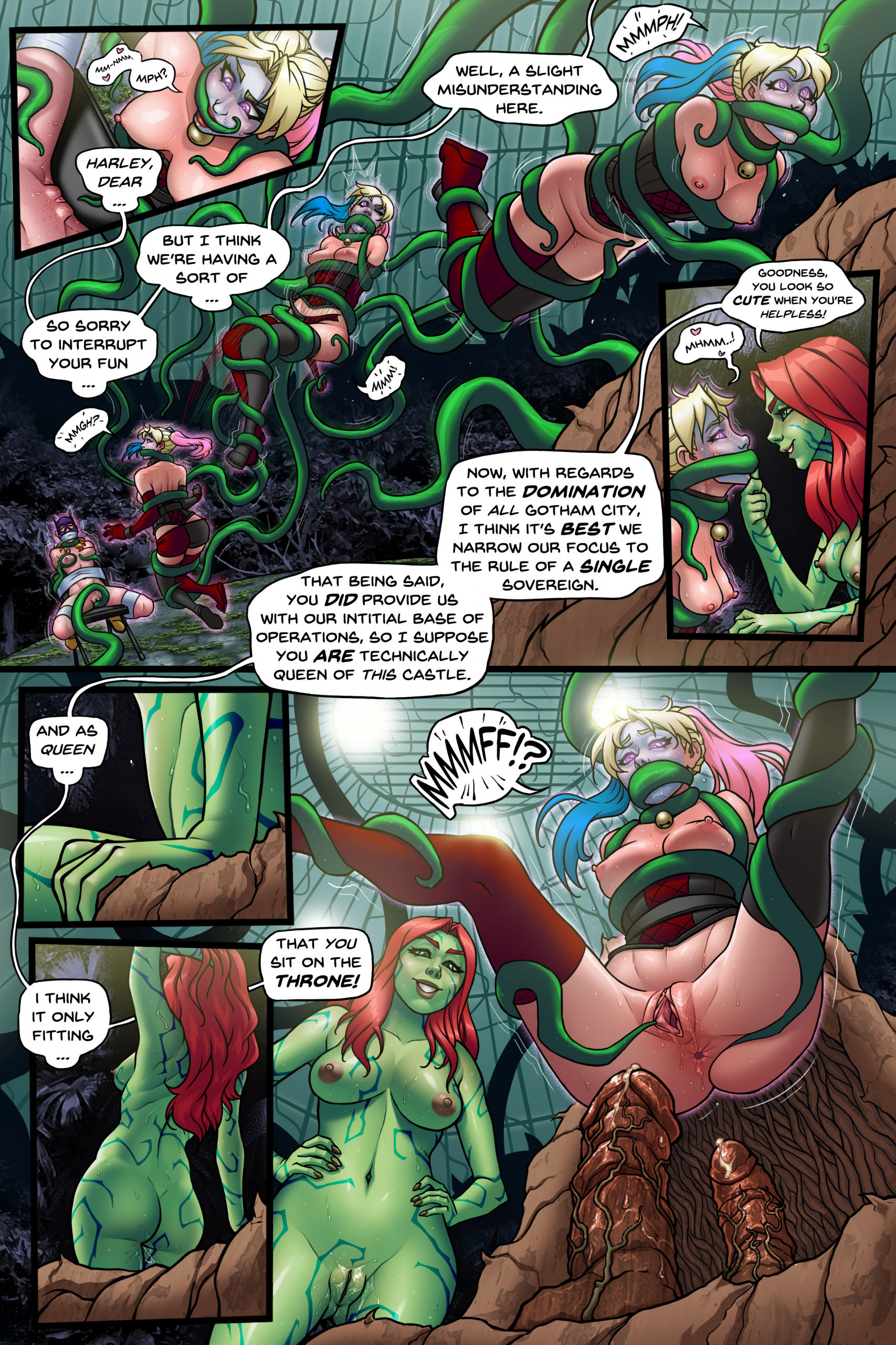 Little shop of harley porn comic picture 17