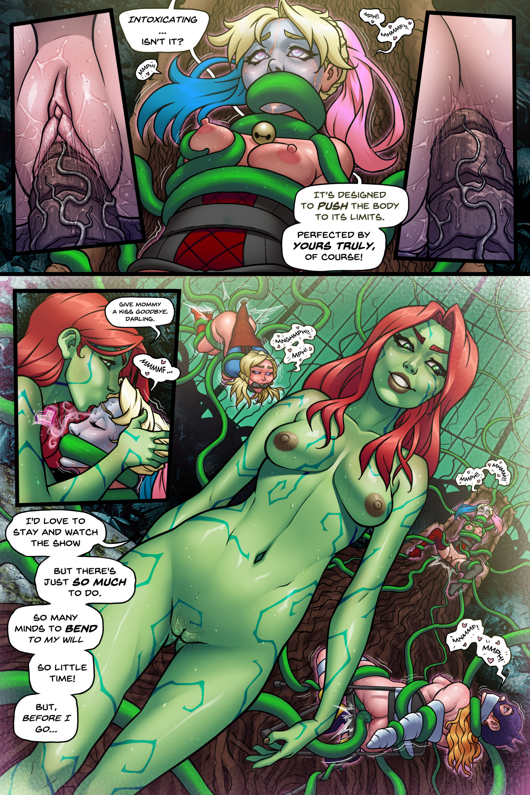 Little shop of harley porn comic picture 18