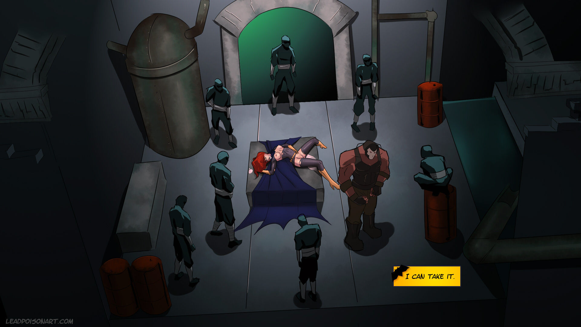 Slave crisis 2 porn comic picture 21