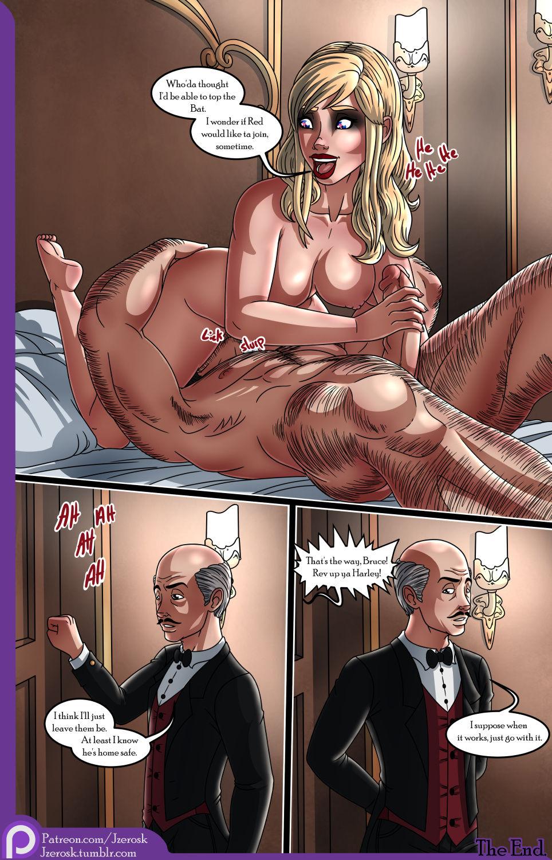 The bat in love porn comic picture 17