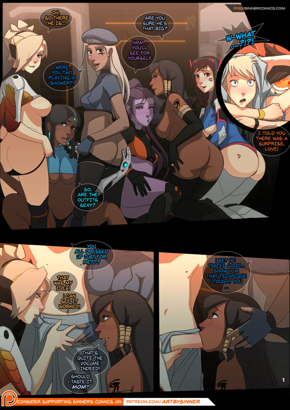 The girly watch 6 porn comic picture 1
